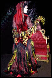 © Kambriel - All Rights Reserved. width=166 height=250><br><font size=-1>Monica in Volcanic Gown worn for the